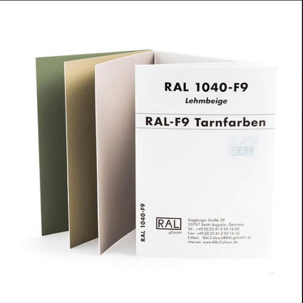 Каталоги цветов RAL CLASSIC F9