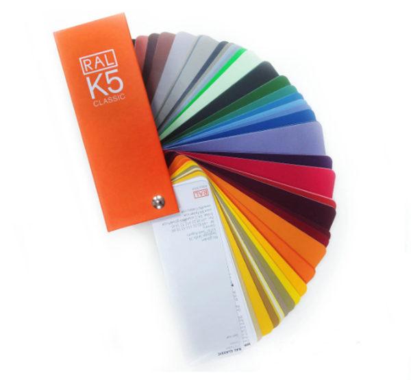 Каталоги цветов RAL CLASSIC K5 (глянцевые)