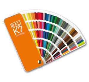 Каталоги цветов RAL CLASSIC K7
