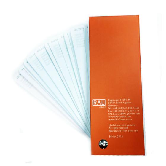 Каталоги цветов RAL CLASSIC K5 (полуматовые)