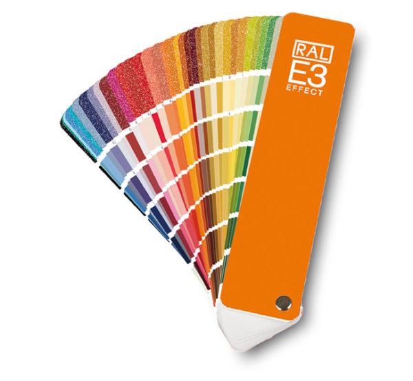 Каталоги цветов RAL EFFECT Е3 (веер с оттенками)