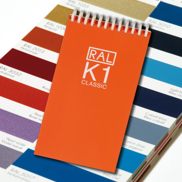 Каталоги цветов RAL CLASSIC K1