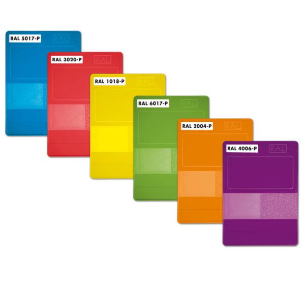 Индивидуальные карточки каталога RAL PLASTICS
